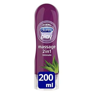 Durex Play Massage 2in1 Lubricant Gel (200ml)