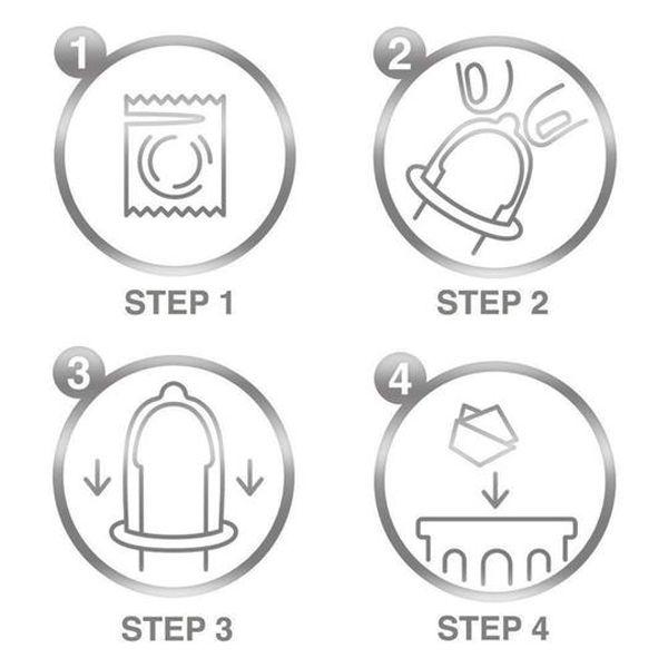 Durex Invisible Extra Thin Extra Sensitive Condoms – 12 Pack