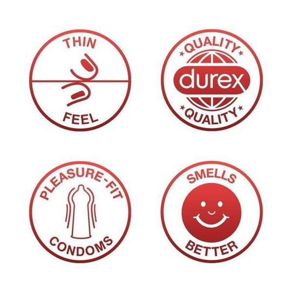 Durex Thin Feel Condoms – 12 Pack