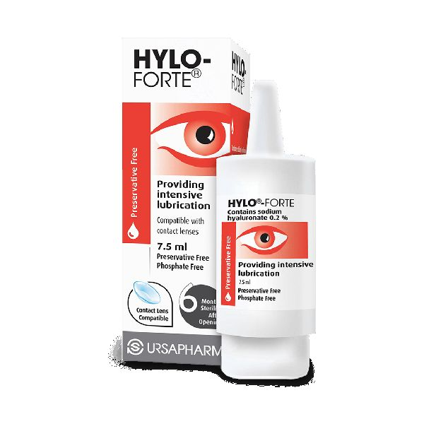 Hylo-Forte Eye Drops Preservative Free 7.5ml