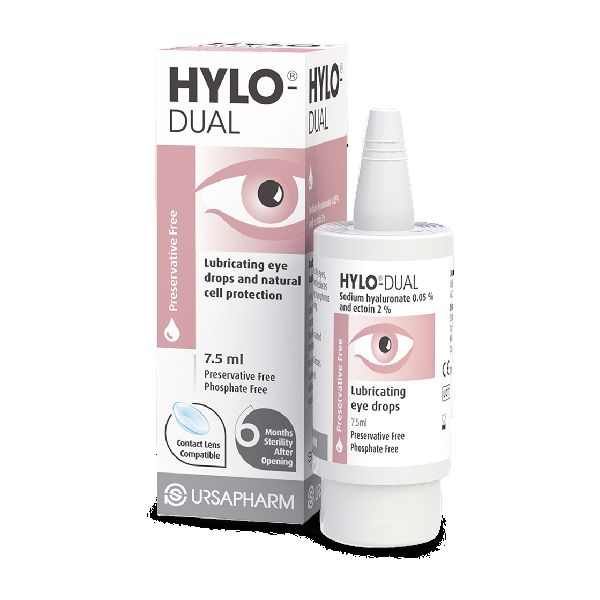 Hylo-Dual Eye Drops Preservative Free 7.5ml