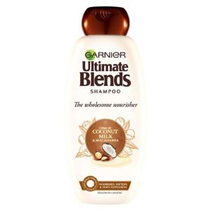 Garnier Ultimate Blends Coconut Milk Dry Hair Shampoo (360ml)