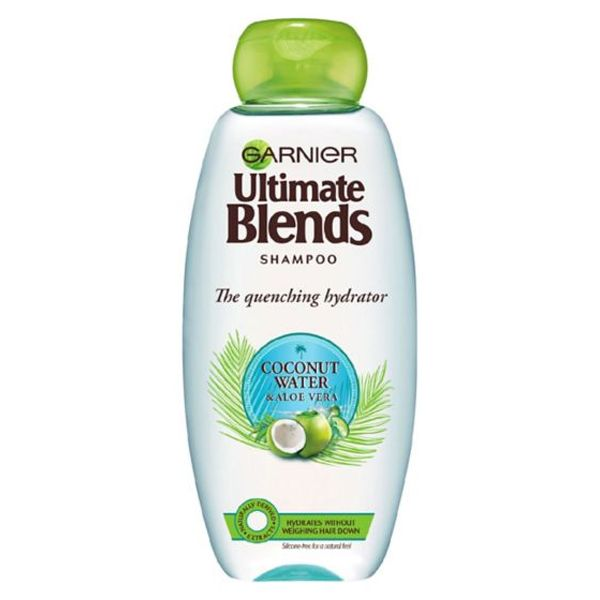 Garnier Ultimate Blends Coconut Water Dry Hair Shampoo (360ml)