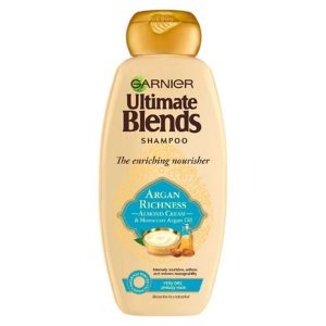 Garnier Ultimate Blends Argan Oil & Almond Cream Dry Hair Shampoo (360ml)