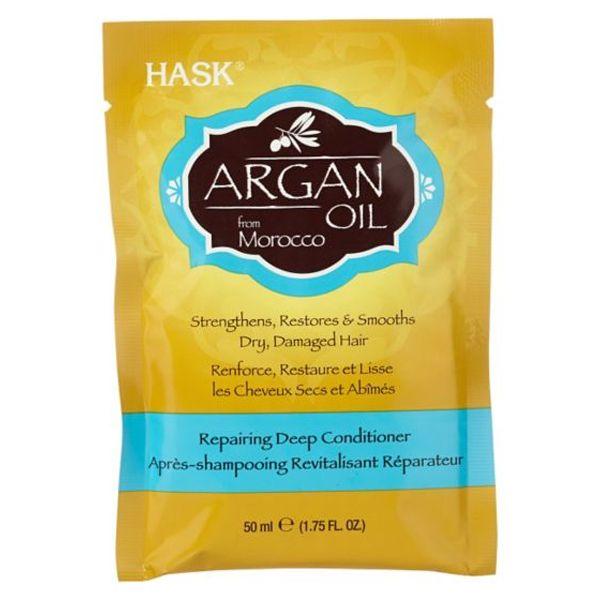 Hask Argan Oil Repairing Deep Conditioner Sachet (50g)