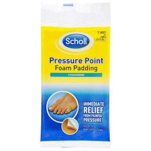 Scholl Pressure Point Foam Padding (1 sheet)