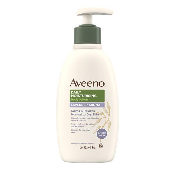 Aveeno Daily Moisturising Body Lotion Lavendar Aroma (300ml)