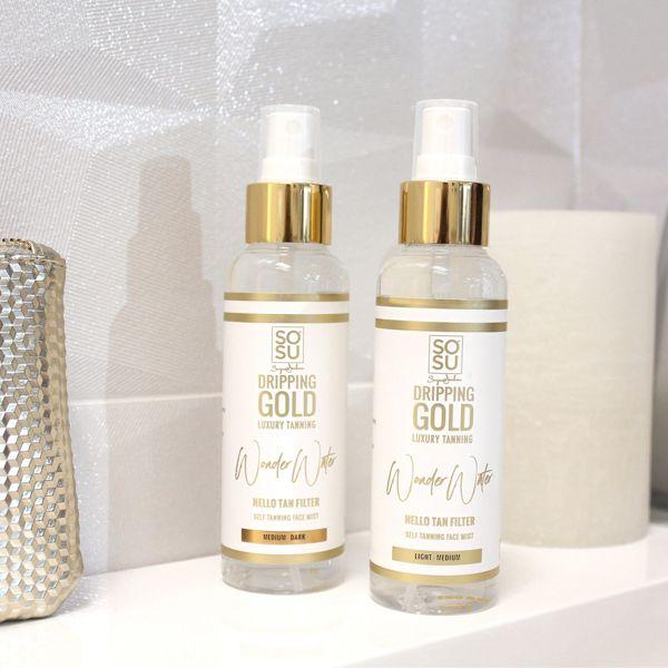 Dripping Gold Wonder Water Self Tanning Facial Mist (125ml)