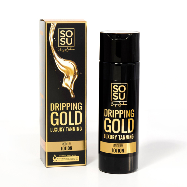 Dripping Gold Luxury Tanning Lotion (200ml)