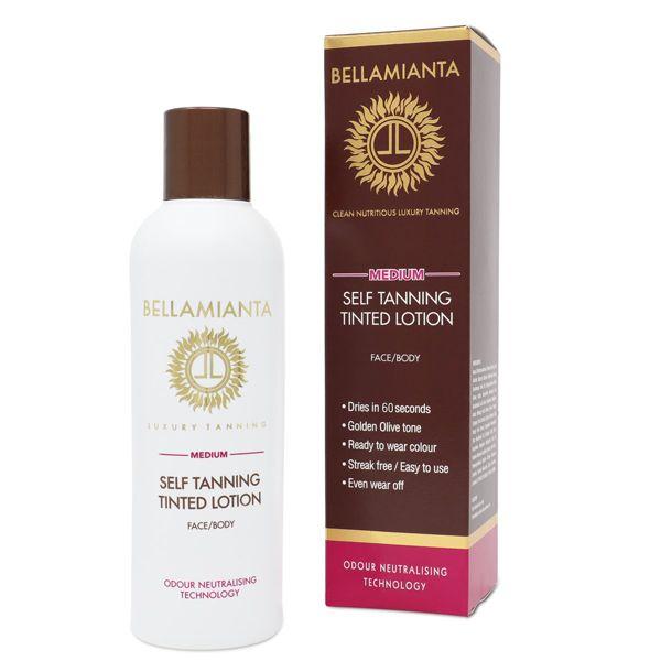 Bellamianta Medium Self Tanning Tinted Lotion (200ml)