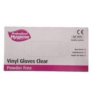 Gloves Vinyl Powder Free Clear (Large)