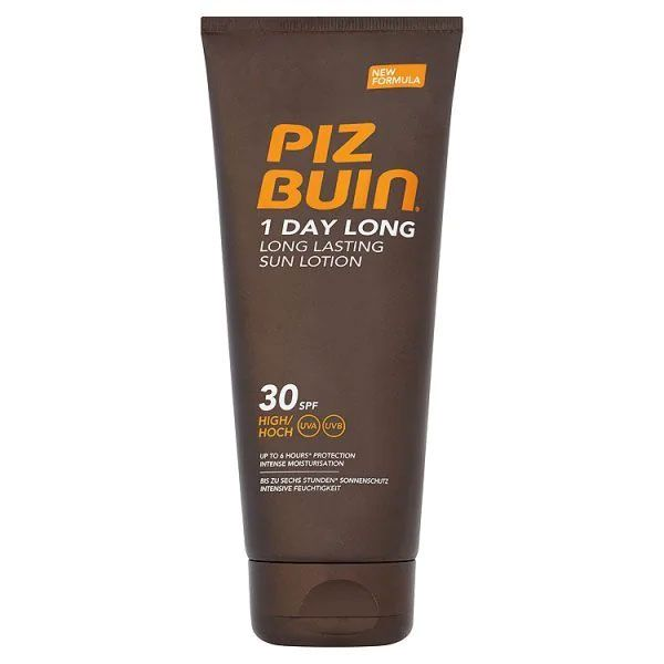 Piz Buin 1 Day Long Lotion SPF 30 (100ml)