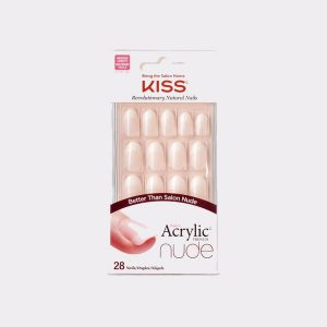 Kiss Salon Acrylic Nude Nails – Graceful
