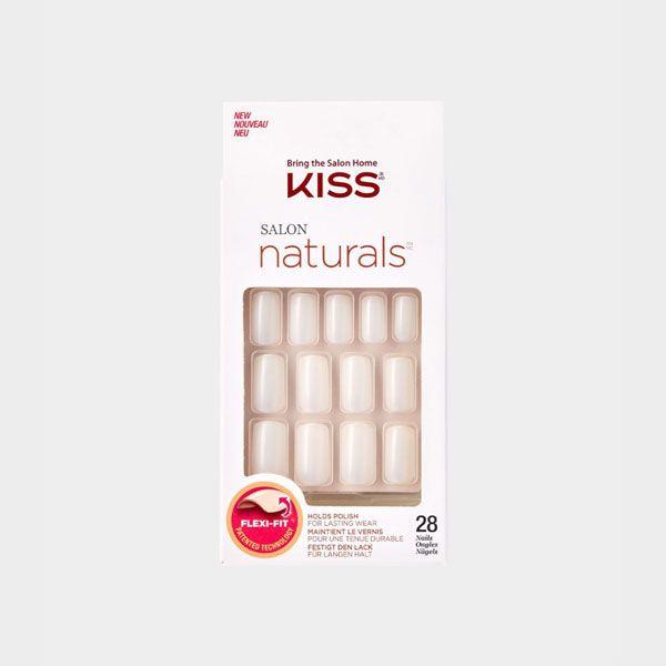 Kiss Salon Naturals False Nails – Chillax