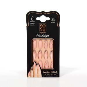 Sosu by Suzanne Jackson False Nails Candlelight
