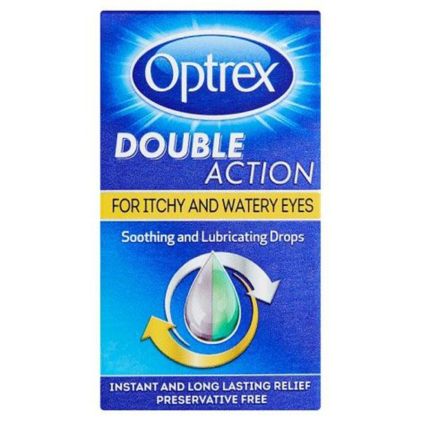Optrex Double Action Drops for Itchy & Watery Eyes (10ml)