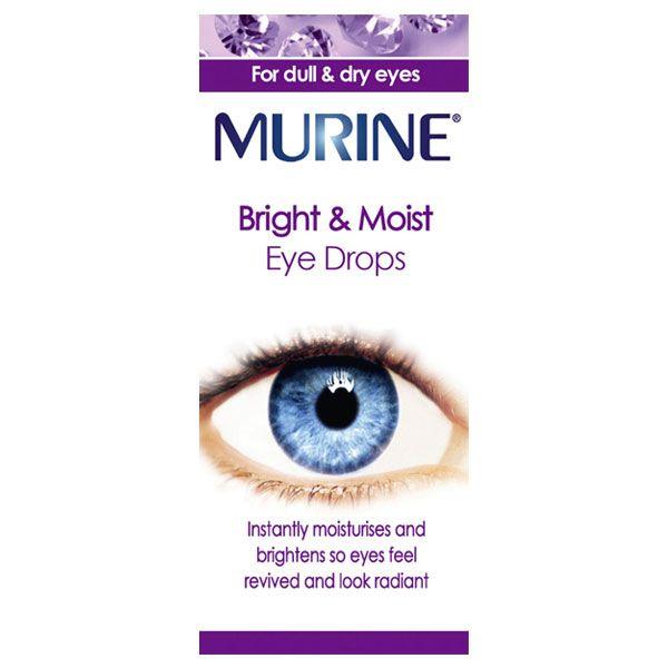 Murine Bright & Moist Eye Drops (15ml)
