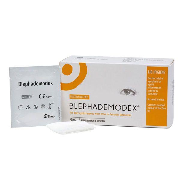 Blephademodex Eye Lid Wipes (30)