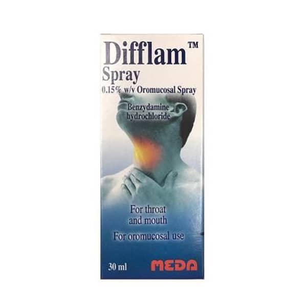 Difflam Oromucosal Throat Spray 30ml