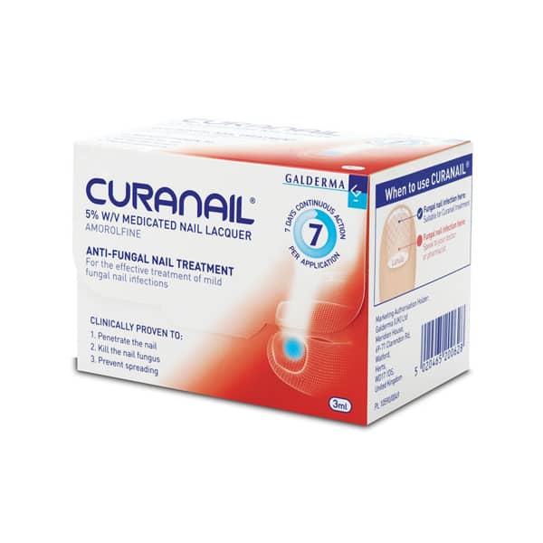 Curanail Medicated Nail Lacquer 5%