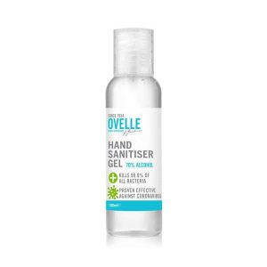 Ovelle Hand Sanitiser Hand Gel 70% Alcohol (100ml)