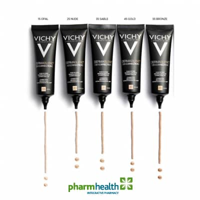 Vichy Dermablend - A Staff member's account of her favorite foundation. Pharmhealth Pharmacy