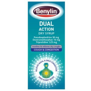 Benylin Dual Action Dry Cough Syrup (100ml)