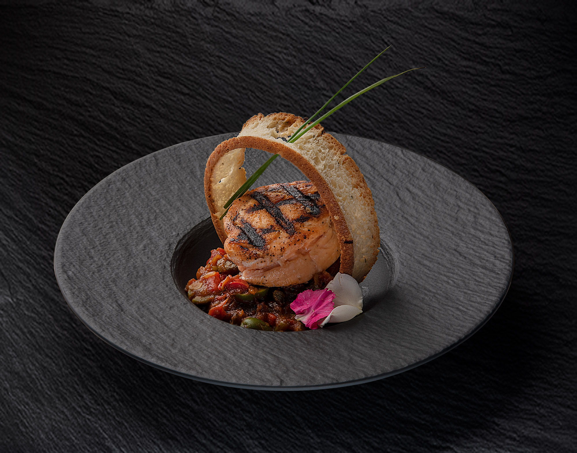 A simple dish made exceptional. Lighting for texture and color