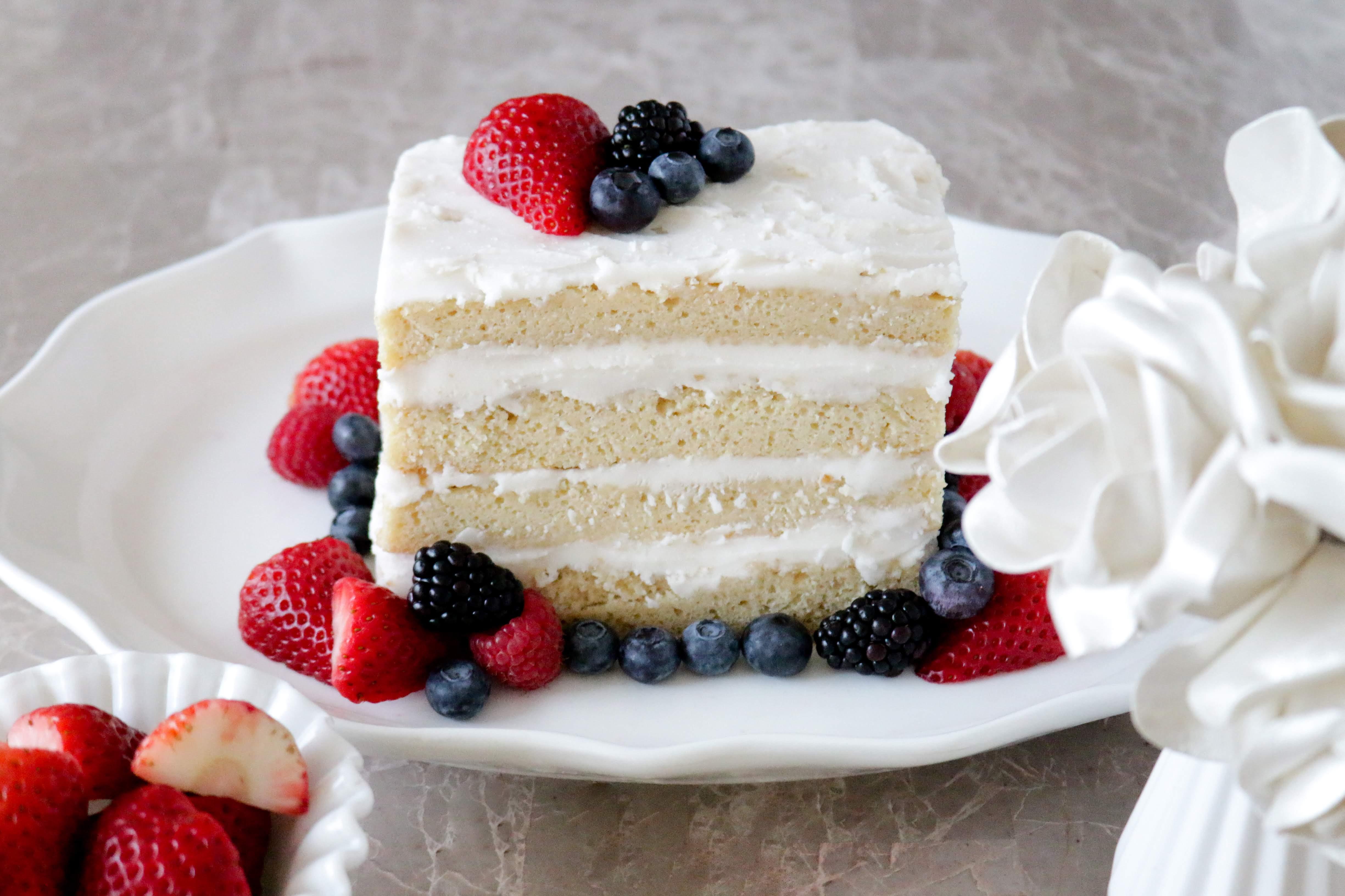 Vegan Berry Cake