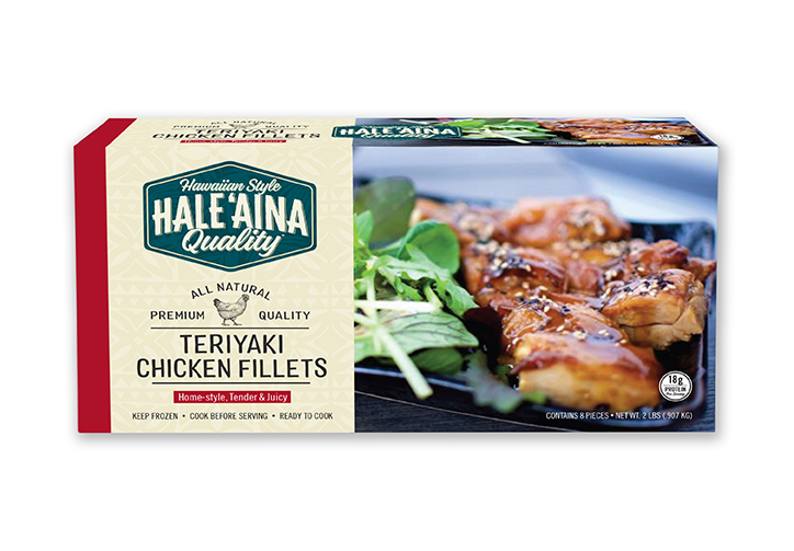 Hawaiian Style Branded Food Packaging