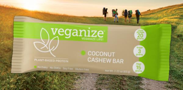 Vegan Protein Bar Packaging & POS Display
