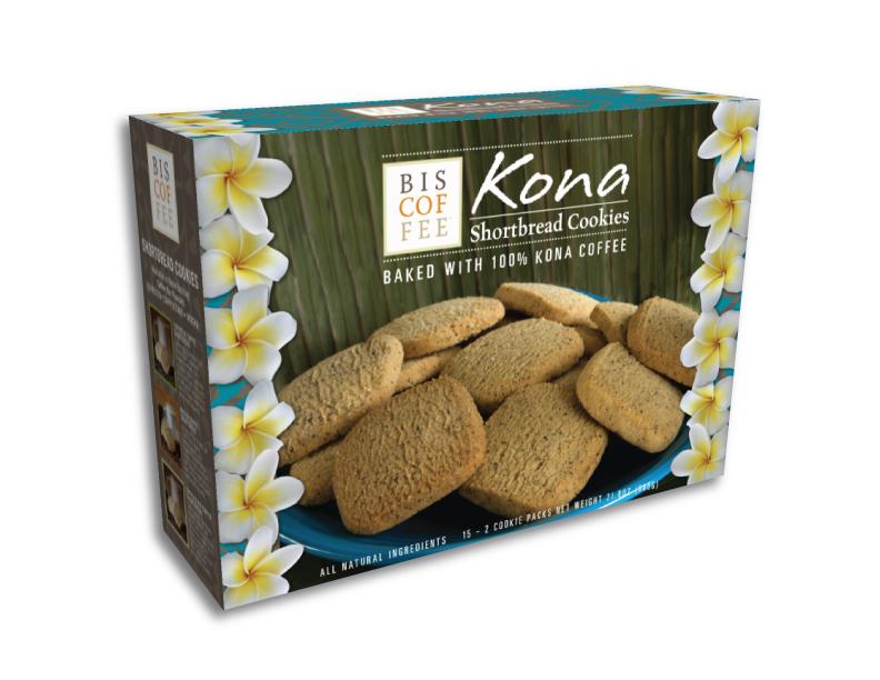 Hawaiian Themed Cookie Packaging