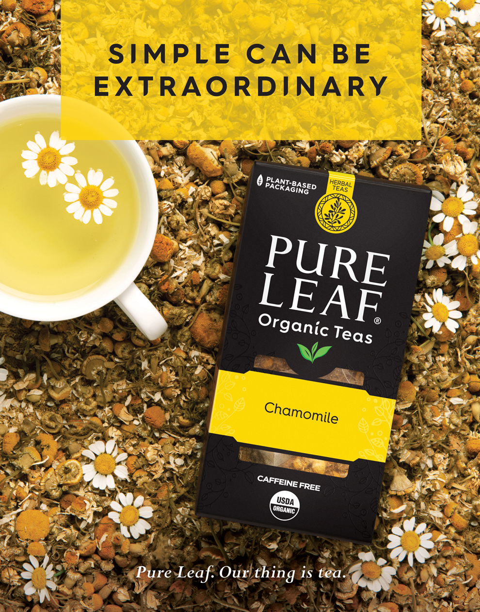 Ad campaign for Pure Leaf Tea