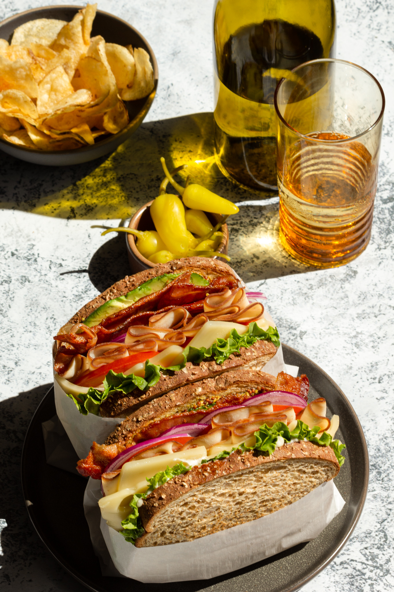 Food Photography Sandwiches