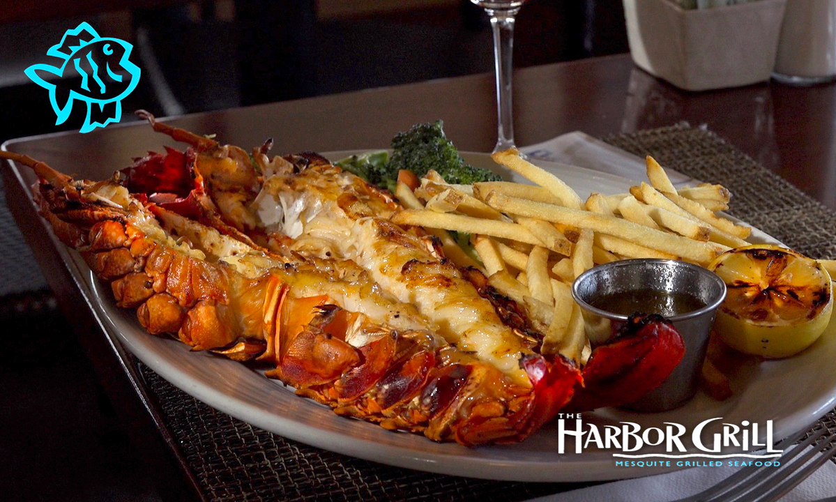 Restaurant Shoot for The Harbor Grill in Dana Point California