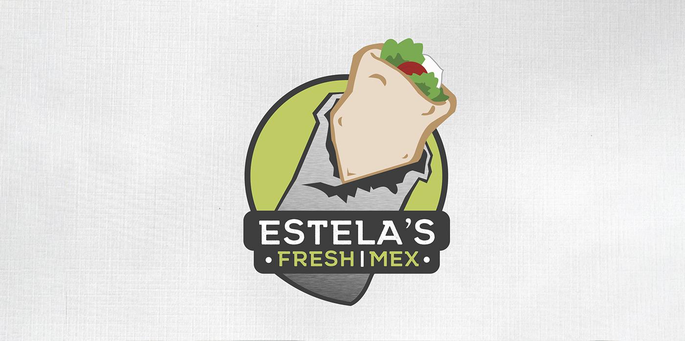 Estelas Fresh Mex Logo and Outdoor Signage