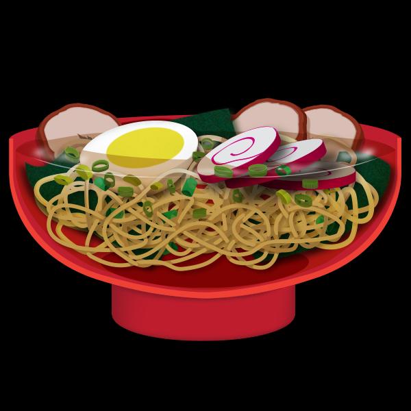 Ramen Bowl (vector illustration)