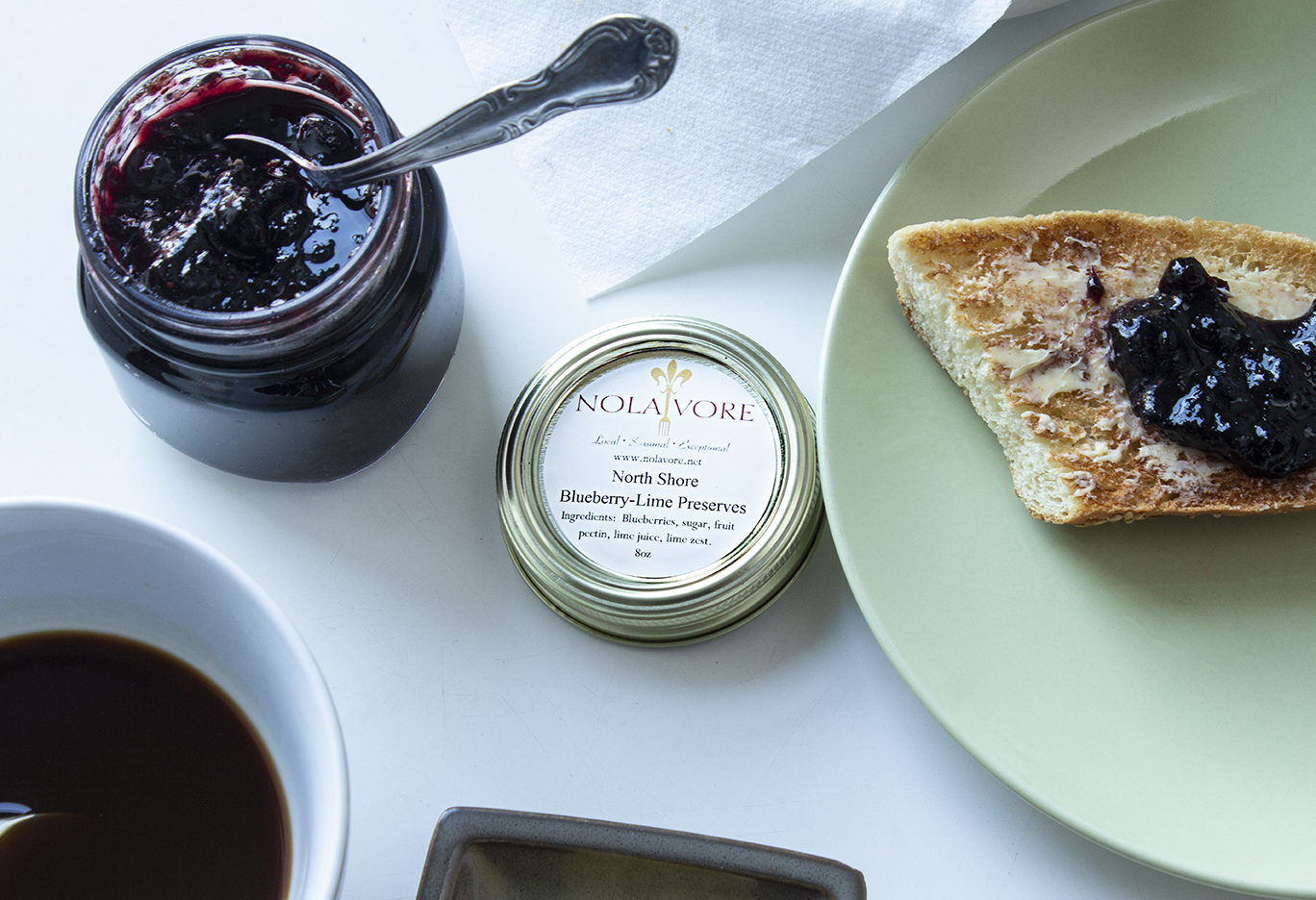 Jam Jar Shoot and food styling