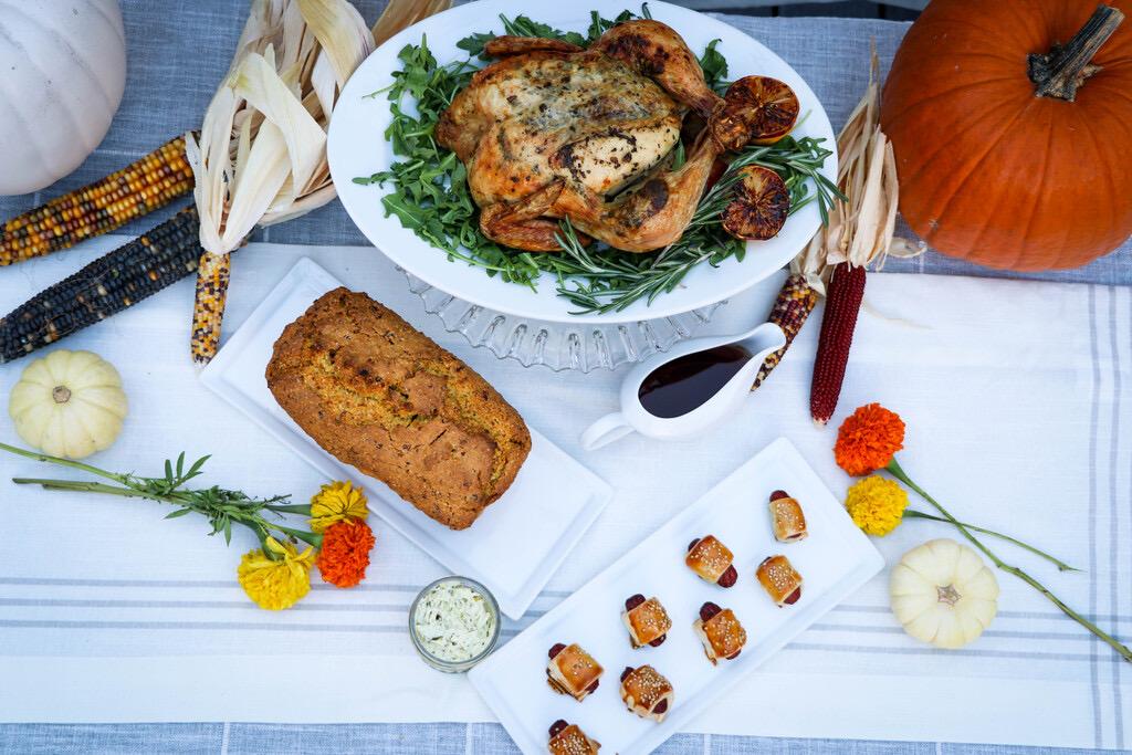 Flour Belly Thanksgiving Menu