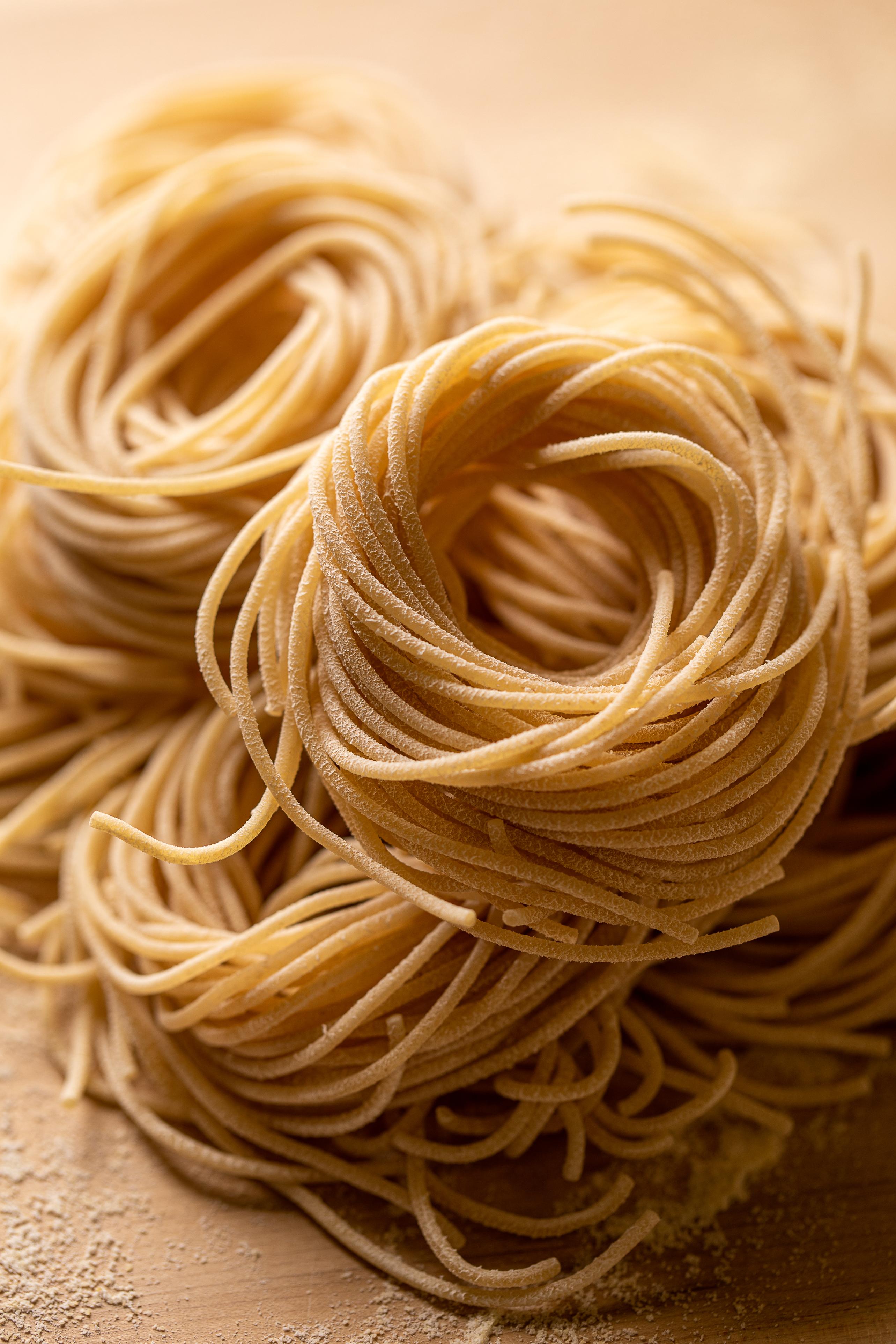 Four Star fresh Pasta, shot for Edible Maine