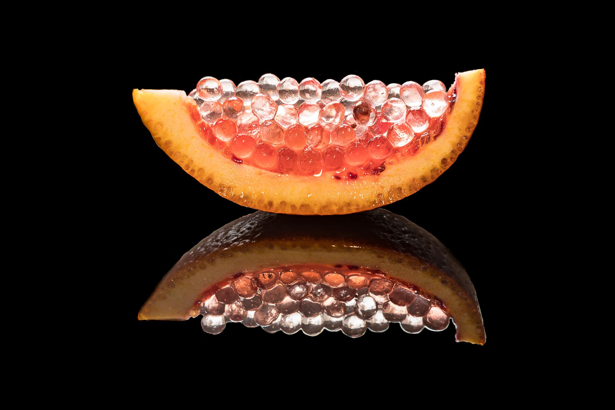 blood orange caviar