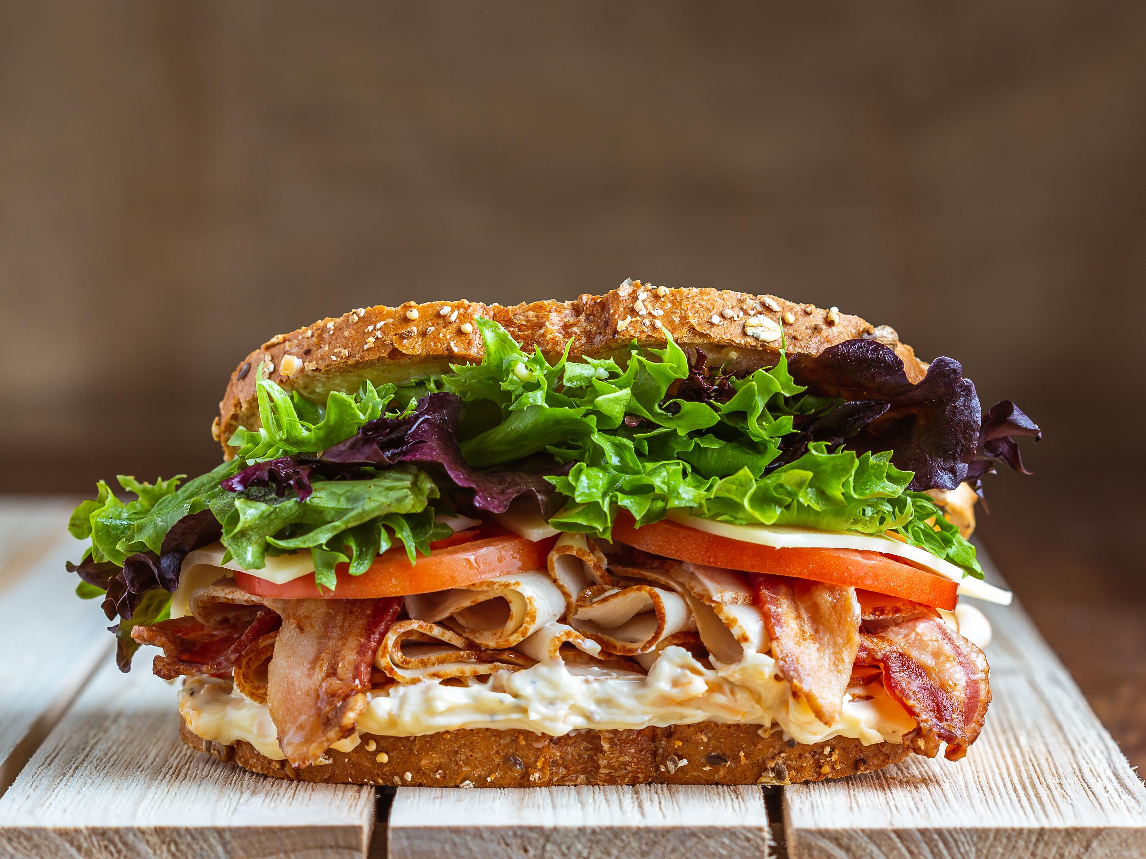 Sams Mart Convenience Store sandwich line shoot