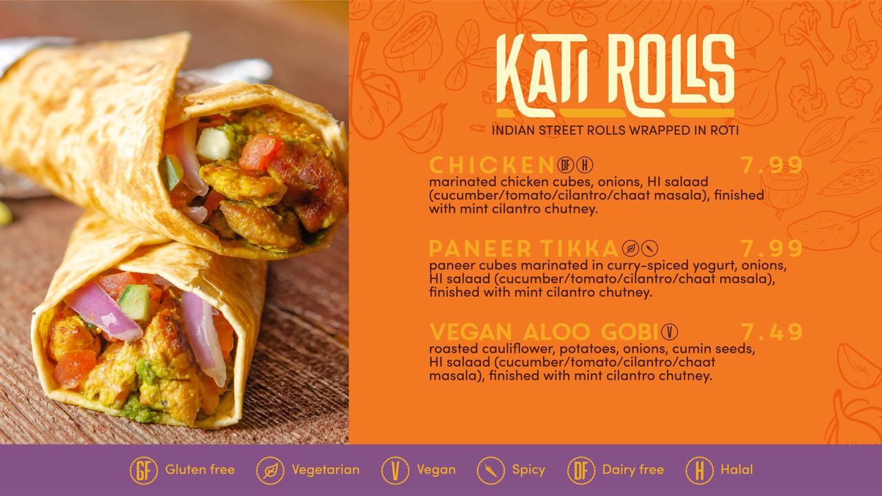 Hot Indian Restaurant Menu Boards