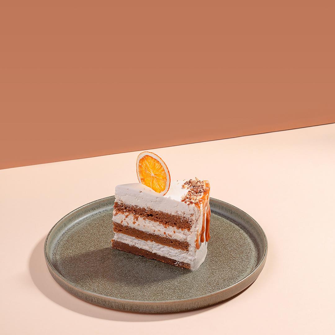 Vegan cakes and pastries