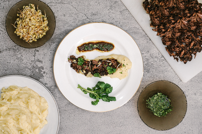 Plating Indonesian Steak
