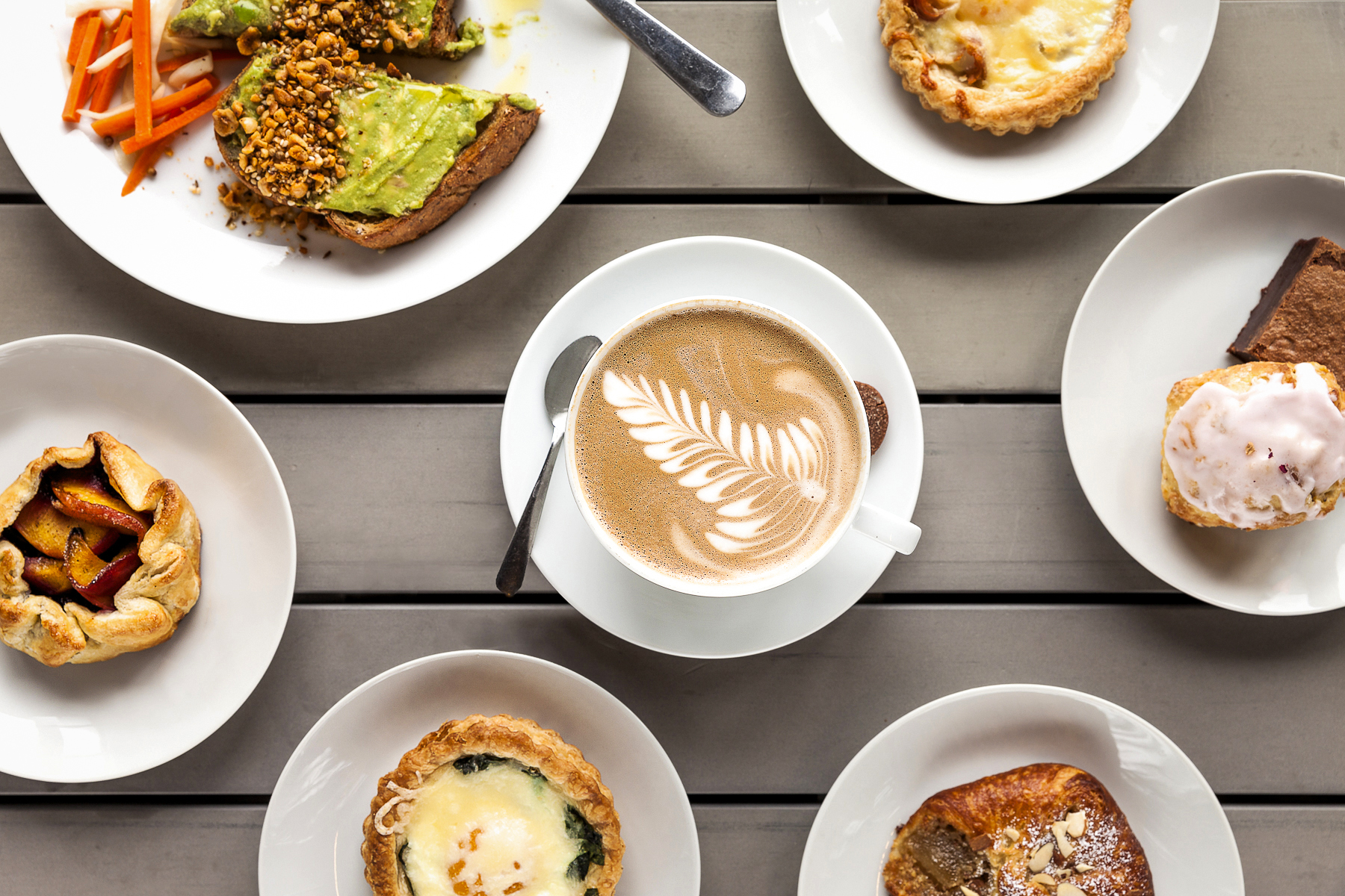 Website Images for 3 Cups Coffee Shop & Bakery.