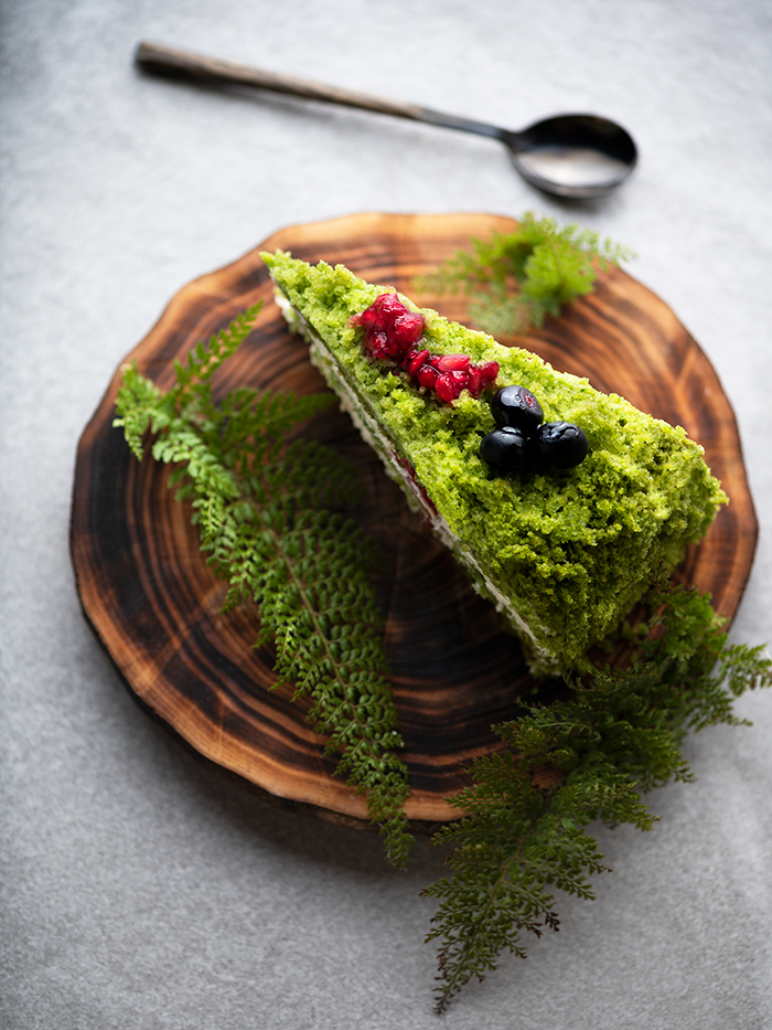 Forrest moss cake