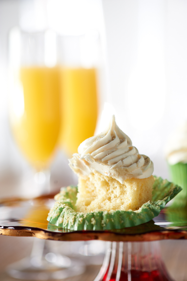 Mimosa cupcakes TV segment You're Home with Jill at QVC