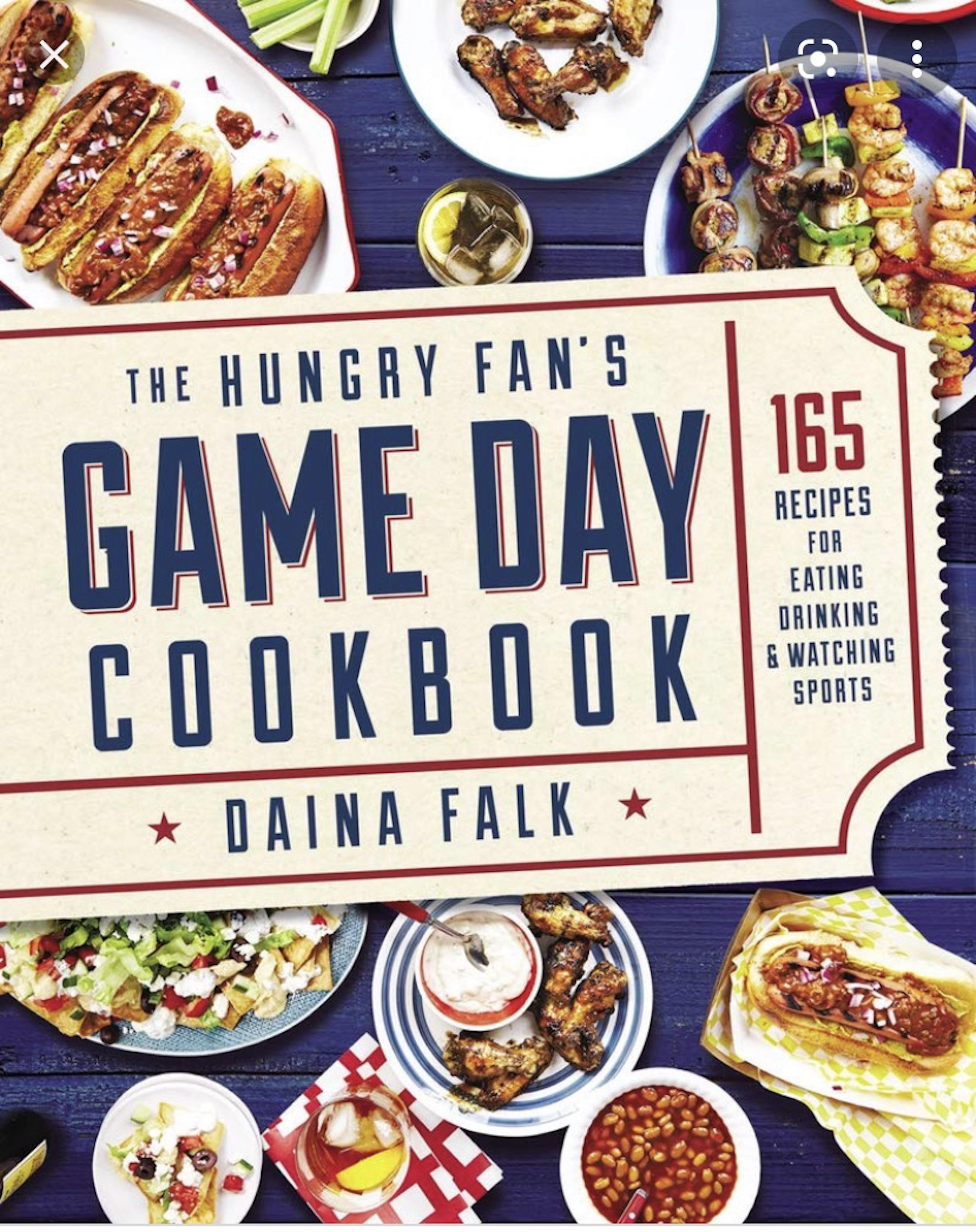 Game Day Cook Book Tour