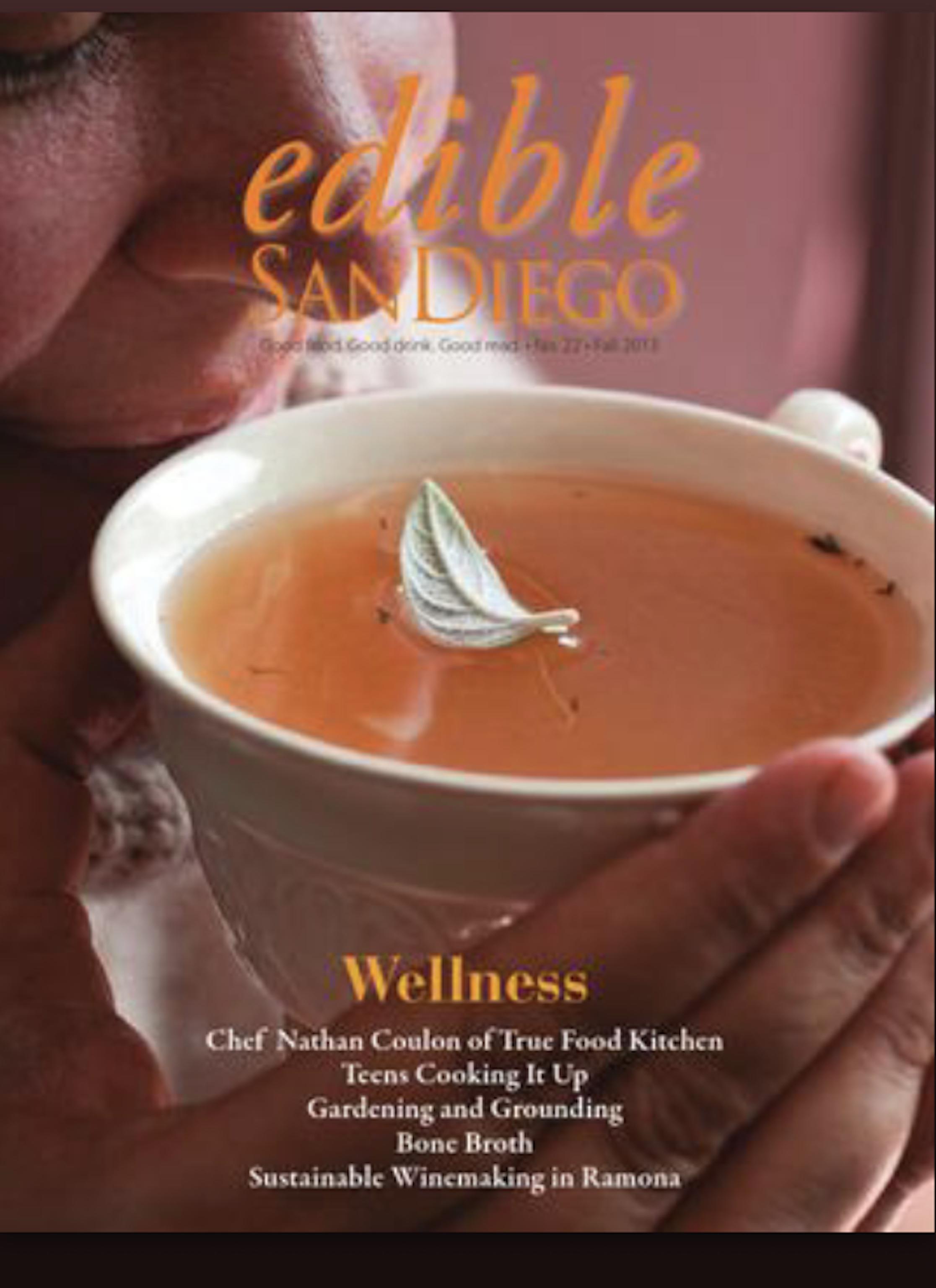 Edible San Diego Wellness Issue